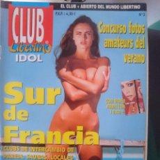 Revistas: REVISTA EROTICA CLUB LIBERTINO IDOL - N 3 -VER FOTOS- --REFM1E5. Lote 58406398