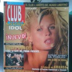 Revistas: REVISTA EROTICA CLUB LIBERTINO IDOL - N 1 -VER FOTOS- --REFM1E5. Lote 58406441
