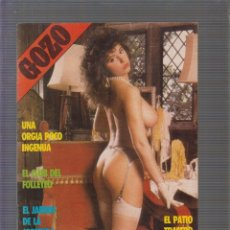 Magazines: GOZO Nº 8 REVISTA EROTICA DE LOS AÑOS 90. Lote 256145525