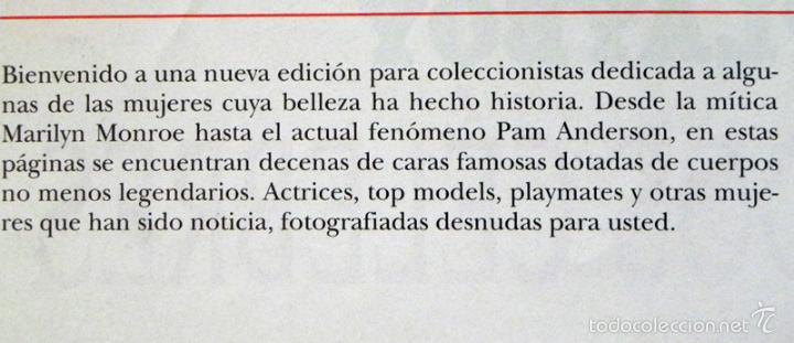 Revistas: PLAYBOY EDICIÓN COLECCIONISTAS PAMELA ANDERSON Y OTROS DESNUDOS CÉLEBRES REV ERÓTICA MONROE CRAWFORD - Foto 3 - 60358119