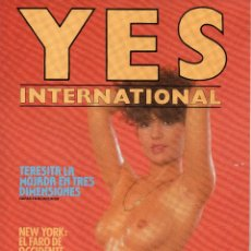 Revistas: REVISTA YES INTERNACIONAL. EROTICA. NUM. 2 JUNIO DE 1984. Lote 60819995