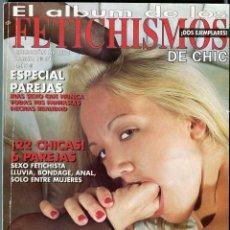 Revistas: FETICHISMOS ALBUM Nº 31 ( DOS EJEMPLARES EN UNA REVISTA Nº 94 / 95) EROTICA SOLO ADULTOS AÑO 2003. Lote 62421608