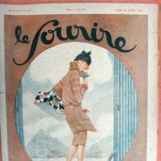 Revistas: REVISTA EROTICA , LE SOURIRE Nº 417, POCAS PAGINAS , DESNUDOS , VER FOTOS , ORIGINAL. Lote 63324912