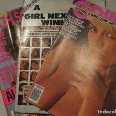Revistas: LOTE DE 3 REVISTAS EROTICAS-EDICIÓN EN INGLES. Lote 63672571