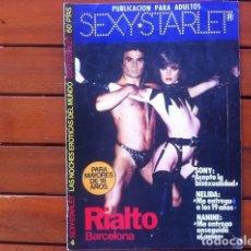 Revistas: SEXY STARLET Nº 4 . 1977 . RIALTO BARCELONA . REVISTA EROTICA . Lote 38829717