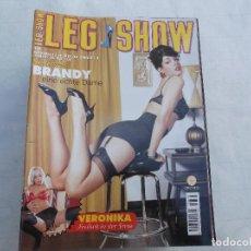 Revistas: LEG SHOW Nº 95, EN ALEMAN, REVISTA EROTICA SOLO PARA ADULTOS. Lote 104427668