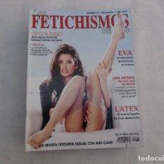 Magazines: LOS FETICHISMOS DE CHIC Nº 75. DEDOS & SUELAS. LATEX. AMA ARTEMIS. REVISTA EROTICA PARA ADULTOS. Lote 145484994