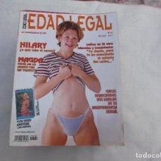 Revistas: EDAD LEGAL Nº 69. LOLITAS DE 18 AÑOS HUMEDAS Y HAMBRIENTAS. REVISTA EROTICA PARA ADULTOS. Lote 211780460