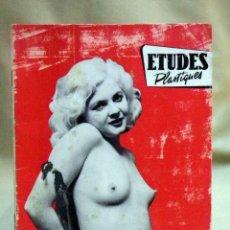 Revistas: REVISTA FOTOGRAFIA, DESNUDOS, ETUDES PLASTIQUES, ALBUM Nº 19, EDICIONES RENAUD, FRANCIA 1950S. Lote 66203234