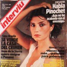 Revistas: REVISTA *INTERVIU* ÁNGELA MOLINA -AÑO 8, Nº 380. AGOSTO 1983-.. Lote 66453746