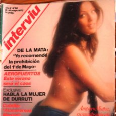 Revistas: REVISTA *INTERVIU* -SUIZA, GUARIDA DEL CAPITAL -AÑO 2, Nº 52. MAYO 1977.. Lote 66456486
