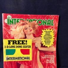 Revistas: EROTICO PORNOGRAFIA REVISTA CLUB INTERNATIONAL ENERO 1981 3D. Lote 66729518