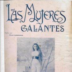 Revistas: LAS MUJERES GALANTES, N. 4, LÁMINAS FOTOGRÁFICAS CON TEXTO DE LIMENDOUX, EROTISMO. Lote 67160513