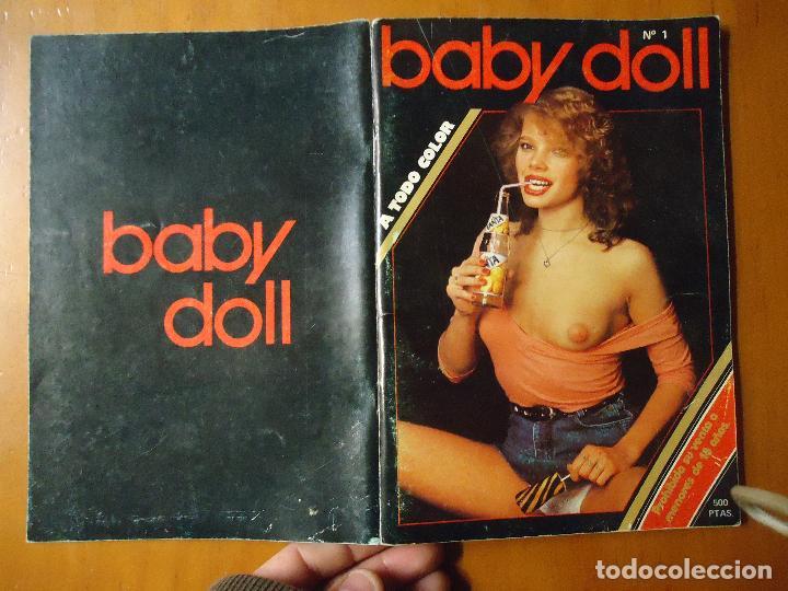 Revistas: ANTIGUA REVISTA PORNO PORNOGRAFICA SEXO BABY DOLL N 1 - 1985 A TODO COLOR - Foto 35 - 71781783