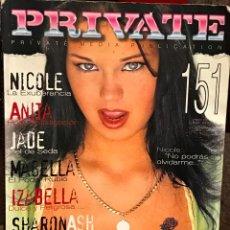 Revistas: REVISTA PRIVATE Nº 151 AÑO 1993. Lote 81573700