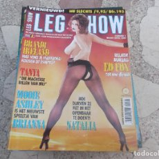 Revistas: LEG SHOW NUMMER 4, MAART-APRIL 2000. REVISTA EROTICA PARA ADULTOS. EDICIÓN PAISES BAJOS. Lote 104427744