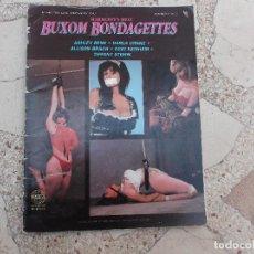 Revistas: BUXOM BONDAGETTES Nº 2, REVISTA U.S.A REVISTA EROTICA SOLO PARA ADULTOS,SADOMASO. Lote 84164332