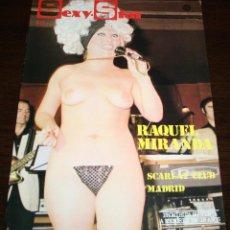 Revistas: SEXY-STAR Nº 9 - RAQUEL MIRANDA; SCARLAT CLUB MADRID... - 1977. Lote 86331384