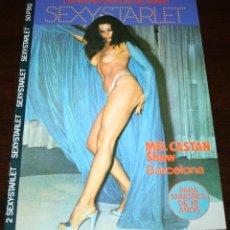 Revistas: SEXY-STARLET Nº 2 - MEL CASTAN SHOW BARCELONA... 1977. Lote 86331968