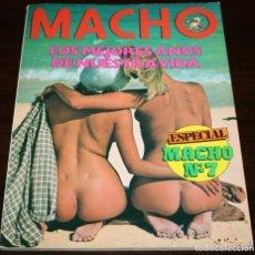 Revistas: MACHO - ESPECIAL Nº 7 - 1981. Lote 86336560