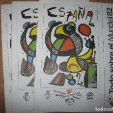 Revistas: LOTE 3 REVISTAS ANTIGUAS TODO SOBRE EL MUNDIAL DE FUTBOL ESPAÑA 1982. Lote 87124920