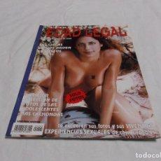 Revistas: EDAD LEGAL EXTRA, Nº 5, REVISTA EROTICA SOLO PARA ADULTOS,ESPAÑOLA. Lote 211780640