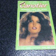 Revistas: CANOTIER Nº 19 REVISTA PARA ADULTOS DE LOS AÑOS 90. Lote 133962887