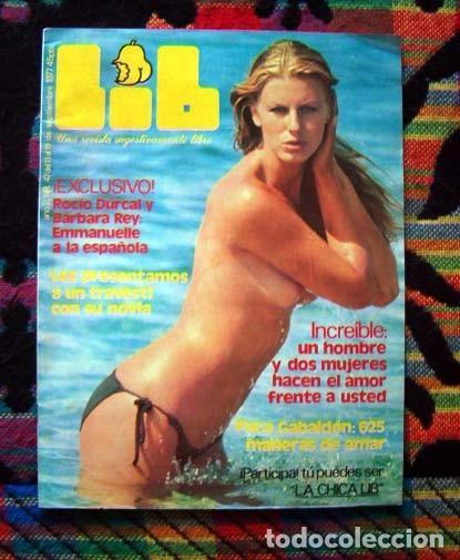 Revista Lib Leonora Fani Barbara Rey Rocio Durcal Paca Gabaldon Ivonne Sentis Y
