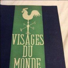 Revistas: VISAGES DU MONDE 1942. Lote 90167684