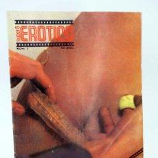 Revistas: REVISTA SUPER 8 EROTICO 1. EL ESPECIALISTA. PROHIBIDA MENORES 18 AÑOS ALFONSO HERNANZ GARCÍA, 1977. Lote 90406769
