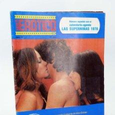 Revistas: REVISTA SUPER 8 EROTICO 3. EL ASCENCOR. N.º ESPECIAL CON CALENDARIO ALFONSO HERNANZ GARCÍA, 1978. Lote 90406774