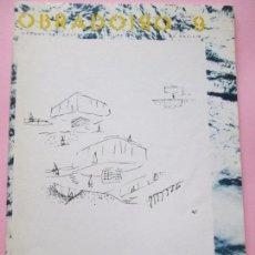 Revistas: REVISTA-OBRADOIRO Nº9-ABRIL 1984-84 PÁGINAS-33X24 CMS-ARQUITECTURA-VER FOTOS-BUEN ESTADO. Lote 90481644