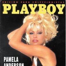 Revistas: PLAYBOY. EDICIÓN PARA COLECCIONISTAS. ABRIL 1996. PAMELA ANDERSON Y OTROS DESNUDOS CÉLEBRES.. Lote 95081019