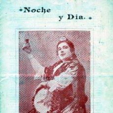 Revistas: REVISTA=NOCHE Y DIA DE MALAGA=AÑO VI NUM.162-04/09/1900-LEER DESCRIPCIÓN-VER FOTOS ADICIONALES .. Lote 95338947