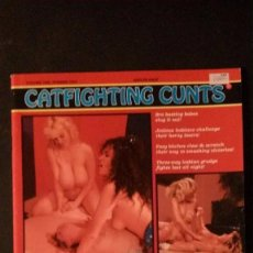 Revistas: CATFIGHTING CUNTS-VOLUME ONE-NUMBER TWO-1990-AMERICAN MAGAZINE--NUEV0. Lote 95623899