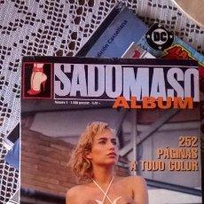 Revistas: ALBUM SADOMASO TOMO CON LOS NUMEROS 2, 3 Y 4. Lote 95626083