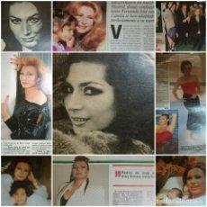 Revistas: RECORTES ROCIO JURADO REVISTAS DISTINTAS EPOCAS. Lote 95671403