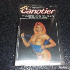 Revistas: CANOTIER Nº 15 CATHERINE RINGER, MARIANNE AUBERT,. Lote 263128480