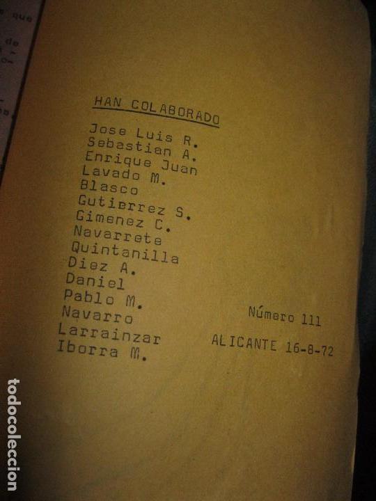 Revistas: NUEVA FRONTERA PORT GALAXIA periodico artesanal antiguo ALICANTE fiestas FUTbOL HERCULES musica etc - Foto 9 - 97228115
