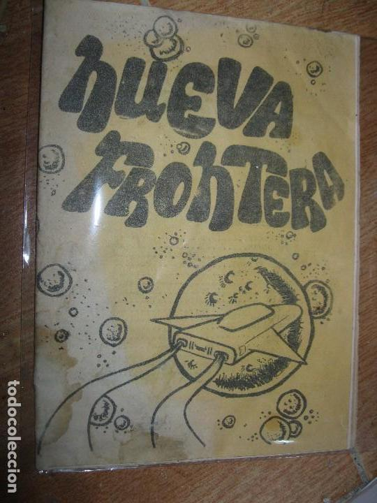 NUEVA FRONTERA PORT GALAXIA PERIODICO ARTESANAL ANTIGUO ALICANTE FIESTAS FUTBOL HERCULES MUSICA ETC (Coleccionismo para Adultos - Revistas)