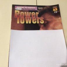 Revistas: POWER TOWERS Nº 2 REVISTA GAY AÑOS 90. Lote 98643891