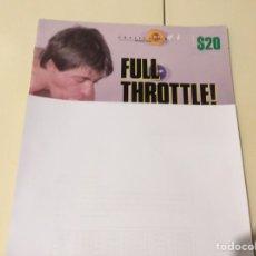 Revistas: FULL THROTTLE , REVISTA GAY AÑOS 90. Lote 98644395