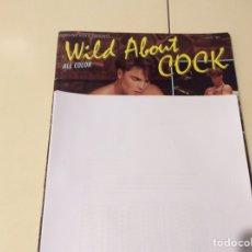 Revistas: WILD ABOUT COCK REVISTA GAY AÑOS 90. Lote 98644959