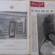 Revistas: REVISTA CANIGO NUMERO 56. PAPA PIO XII OCTUBRE 1958. Lote 98781423