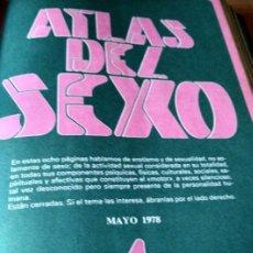 Revistas: VIVIR A DOS, ATLAS SEXUAL, 1977, COLECCIONABLE DE REVISTA EN 2 TOMOS, CERCA DE 2000 PAG, ED GARBO. Lote 100008095