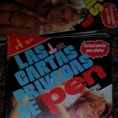 Revistas: LAS CARTAS PRIVADAS DE PEN N-4. Lote 104414551