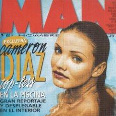 Revistas: REVISTA MAN Nº 140 AÑO 1999. CAMERON DIAZ. EDUARDO ARROYO. LUIS FIGO. ROBERT CARLYLE. . Lote 108899663
