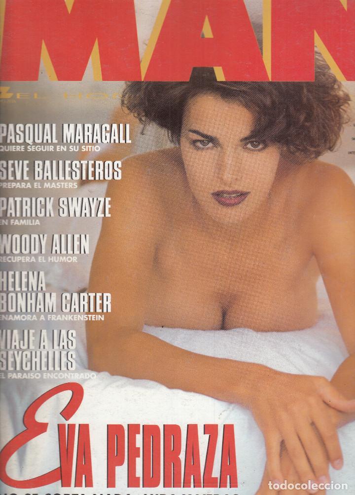 REVISTA MAN N º 88 AÑO 1995. EVA PEDRAZA. PASQUAL MARAGALL. SEVE BELLESTEROS. PATICK SWYZE. (Coleccionismo para Adultos - Revistas)