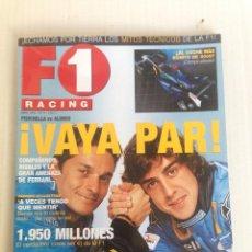 Revistas: REVISTA F1 RACING FERNANDO ALONSO. Lote 109343035