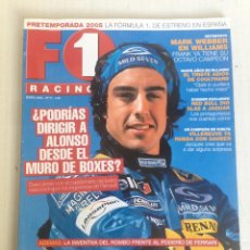 Revistas: REVISTA F1 RACING FERNANDO ALONSO. Lote 109343247